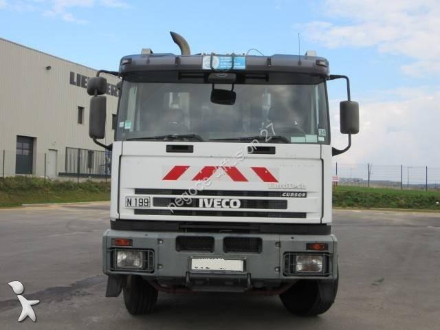 Photos engin de voirie iveco camion benne ordures for Location benne a ordure