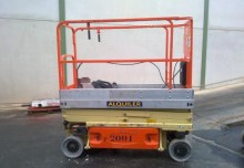 plataforma automotriz Plataforma de tijeras JLG usada