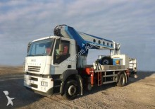 used Iveco telescopic truck mounted