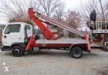 used Nissan telescopic articulated truck mounted