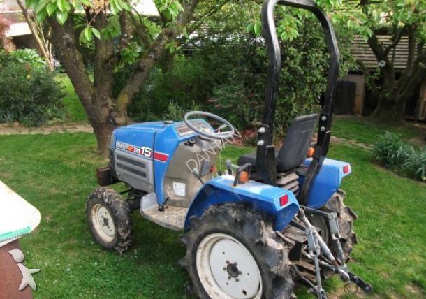 micro tracteur iseki tm 15 occasion n 1408442. Black Bedroom Furniture Sets. Home Design Ideas