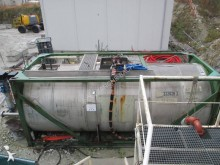 matériel de chantier Flygt cuve à eau + surpresseur
