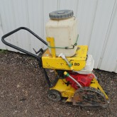 used Wacker Neuson floor saw construction