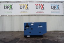 new SDMO generator construction