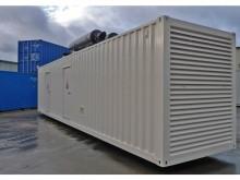 new FG Wilson generator construction