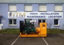matériel de chantier groupe électrogène SDMO occasion