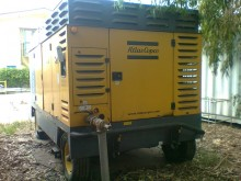 Atlas Copco XAMS 496 CD construction