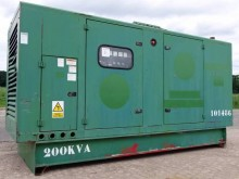 Volvo 200KVA SILENT (VOLVO PENTA ENGINE) construction