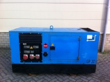 John Deere 30 kVA Supersilent construction