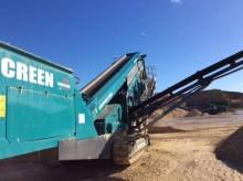 matériel de chantier Powerscreen 2100X 3 Deck 2014