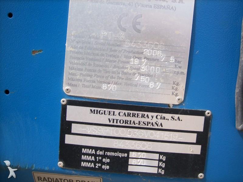 Material de obra betico compresor pt3 usado n 973201 - Material de obra ...
