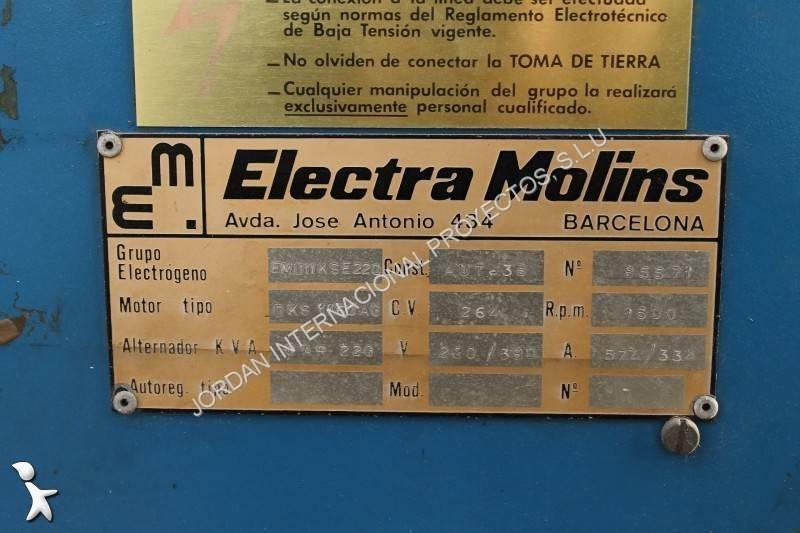 Material de obra electra molins grupo electr geno 10exr - Material de obra ...