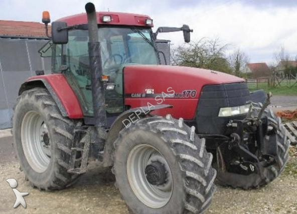 Tracteur agricole case ih mx 170 occasion n 1382395 for Case agricole
