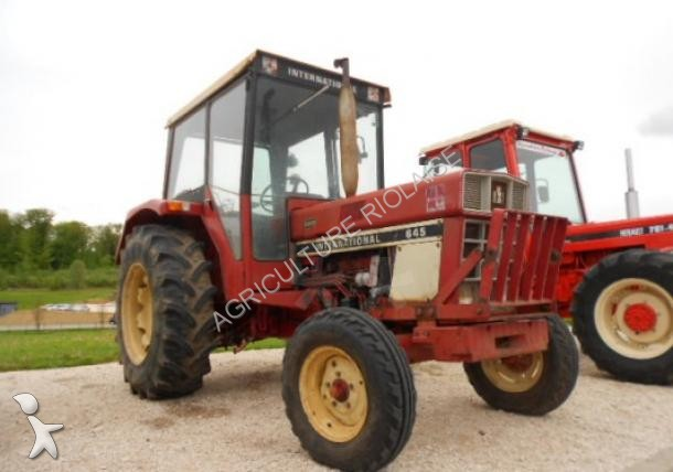 Photos tracteur agricole case ih case ih 645 h occasion for Case agricole