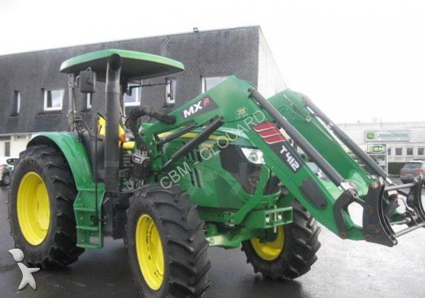 tracteur agricole john deere 6115 m arceau occasion n 1550410. Black Bedroom Furniture Sets. Home Design Ideas