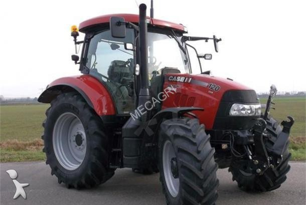Tracteur agricole case ih maxxum 120 cvx occasion n 1561337 for Case agricole