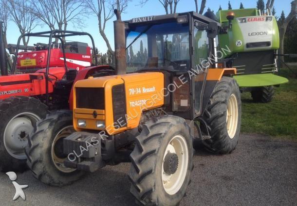 photos tracteur agricole renault tracteur agricole renault tracteur 70 34 tracfor occasion. Black Bedroom Furniture Sets. Home Design Ideas