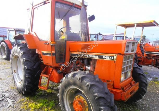 Tracteur agricole case ih 845 xl occasion n 1608830 for Case agricole