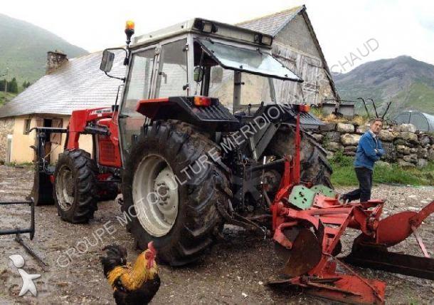 tracteur massey ferguson 365 chargeur occasion