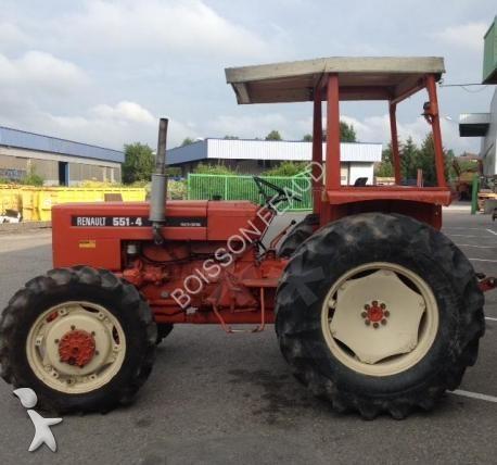 photos tracteur agricole renault tracteur agricole renault 551 4 occasion 1534714. Black Bedroom Furniture Sets. Home Design Ideas