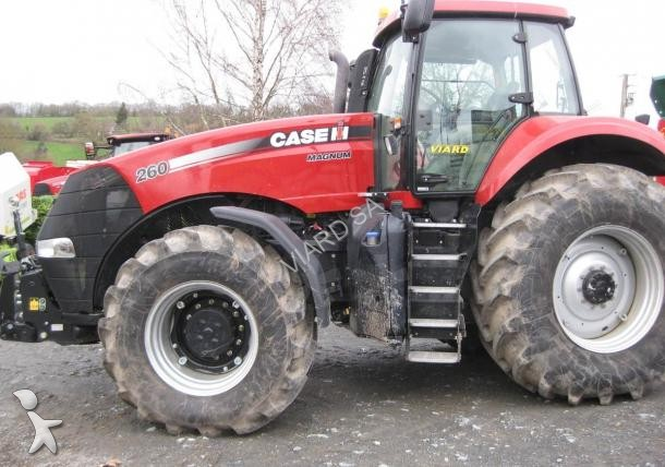 Tracteur agricole case ih magnum260 occasion n 1580043 for Case agricole