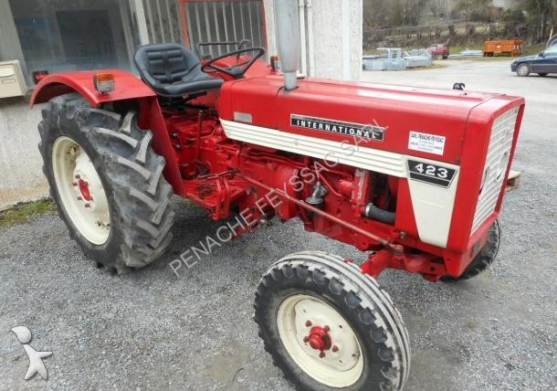 Tracteur agricole case ih 423 occasion n 1607359 for Case agricole