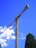 used Liebherr tower crane