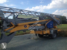 used Potain self-erecting crane