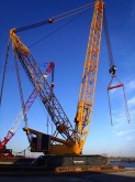 used Terex Demag crawler crane