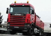 dźwigi Scania używany