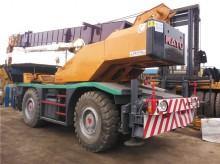 Kato self-erecting crane
