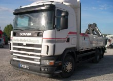 used Scania mobile crane