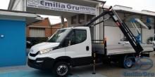 grúa Iveco Autocarro IVECO ECODAILY+Gru Bonfiglioli3S+CasFiss