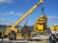 used Haulotte mobile crane