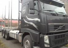 Volvo FH 13 6X4 do drzewa do lasu resor resor 2010