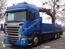 Scania R420 6x2 EURO5 Pritsche mit Kran Palfinger