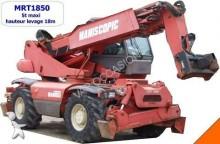 used Manitou mobile crane