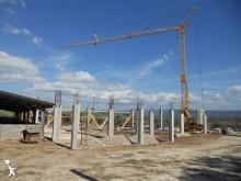 used Potain self-erecting crane