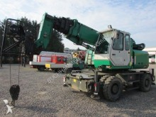 used Sennebogen mobile crane