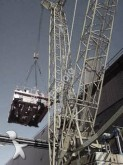 used Demag crawler crane