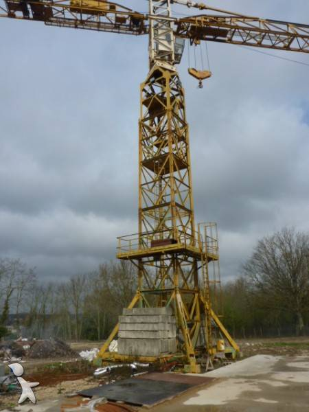 Tower Crane Uses : Used richier tower crane gt n?