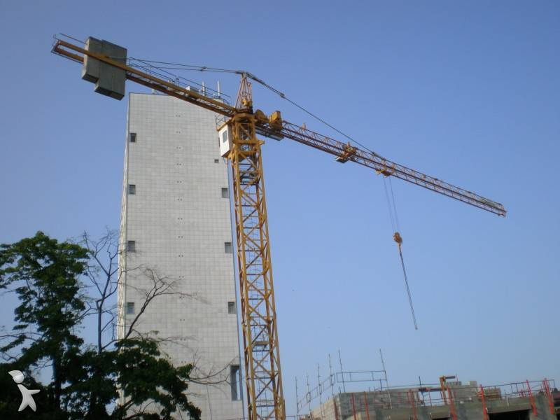 Tower Crane Uses : Images potain tower crane used f c