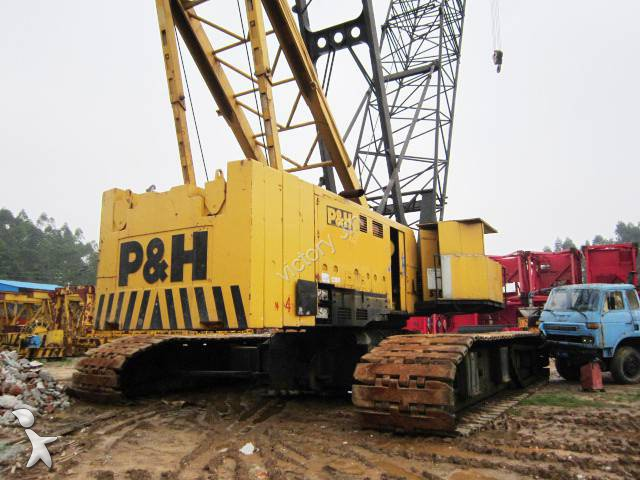 Crawler crane used P&H 5300A