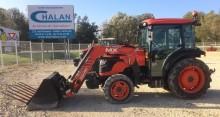 Tracteur vigneron Kubota