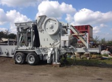 used Altairac Screen crusher