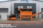 M&J 4000S, Waste Reducer / Shredder 100 t Per Hour.