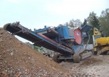 britadeira, reciclagem trituração Steiger usado