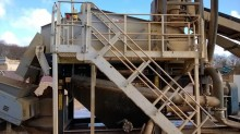 Terex bucket-wheel/sand washing machine