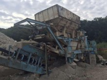 used Krupp crusher