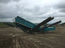 Powerscreen 2100X with 600 hours
